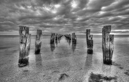 Clifton Springs BW by Danielle  Miner