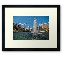 charlotte north carolina Framed Print