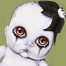 Baby WOOGIE artist Sylvia Lizarraga  by OutsiderArtist