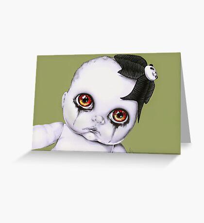 Baby WOOGIE artist Sylvia Lizarraga  Greeting Card