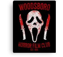 Woodsboro Horror Film Club Canvas Print