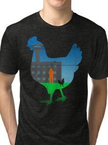 The Chickening Tri-blend T-Shirt