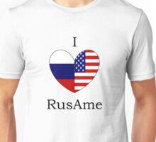 I Heart RusAme Unisex T-Shirt
