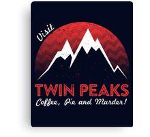 Visit Twin Peaks Canvas Print