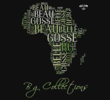 BG Colletions Tee Green Africa  by BGLUIS