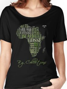 BG Colletions Tee Green Africa  Women's Relaxed Fit T-Shirt