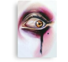 Year Of The Invader oil on wood Sylvia Lizarraga Canvas Print