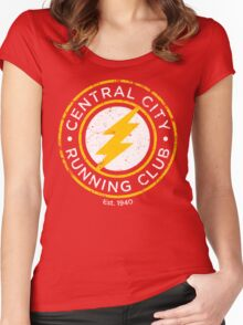 Central City Running Club Women's Fitted Scoop T-Shirt