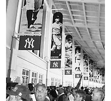 Bunch of Yankees Photographic Print