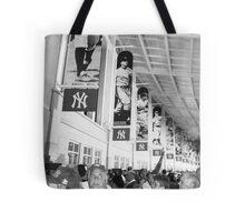 Bunch of Yankees Tote Bag