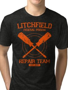 Litchfield Repair Team Tri-blend T-Shirt
