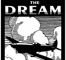 Living The Dream Spitfire by rustyredbubble
