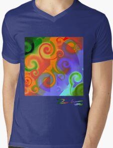 Pax Quattuor Mens V-Neck T-Shirt