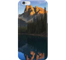 Sunset over Emerald Lake iPhone Case/Skin
