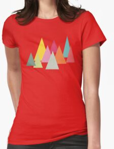 Fir Trees Womens Fitted T-Shirt