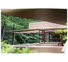 Falling Water, Kaufman House, Frank Lloyd Wright Poster