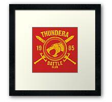 Thundera Battle Club Framed Print