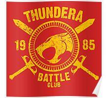 Thundera Battle Club Poster