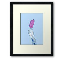 Brain ice cream! mmmmm Framed Print