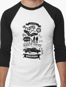 Fam Business Men's Baseball ¾ T-Shirt