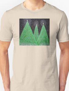 Christmas Trees Unisex T-Shirt
