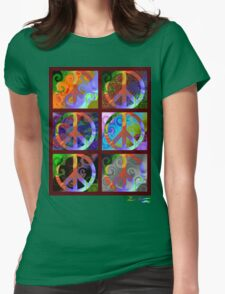 Pax Montage Duo Womens Fitted T-Shirt
