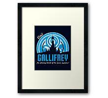 Visit Gallifrey Framed Print