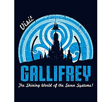 Visit Gallifrey Photographic Print