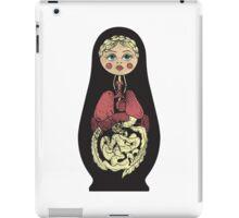 Russian doll iPad Case/Skin
