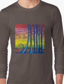 """""""Tales of the Magical Forest"""" from the series """"Freed Landscapes"""" Long Sleeve T-Shirt"""