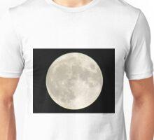 Full-moon In The Night Sky Unisex T-Shirt