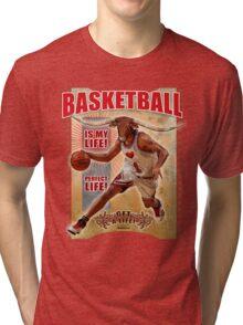 CHICAGO BULLS (BASKETBALL) Tri-blend T-Shirt