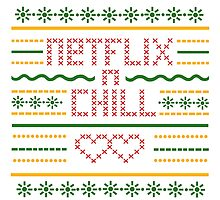 Netflix and Chill Ugly Sweater Vintage Style (Summer) by Schlogger