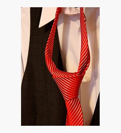 Groom's Tie Photographic Print