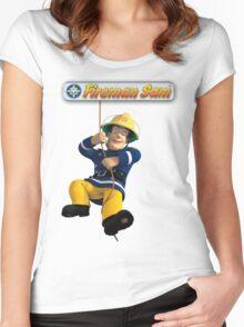 Fireman Sam Women's Fitted Scoop T-Shirt