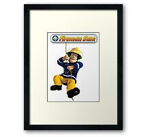 Fireman Sam Framed Print