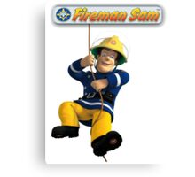 Fireman Sam Canvas Print