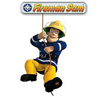 Fireman Sam Photographic Print