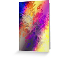 Aura Genesis Greeting Card