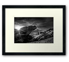 Lightscape Framed Print