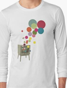 Colour Television Long Sleeve T-Shirt