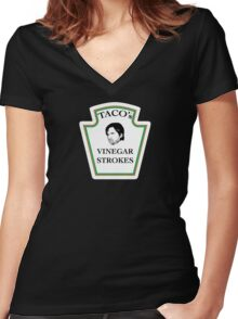 Vinegar Strokes Women's Fitted V-Neck T-Shirt