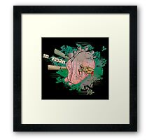 The Liberated Heart Framed Print