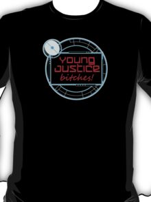 Young Justice Abridged Logo (Adult-Version) T-Shirt