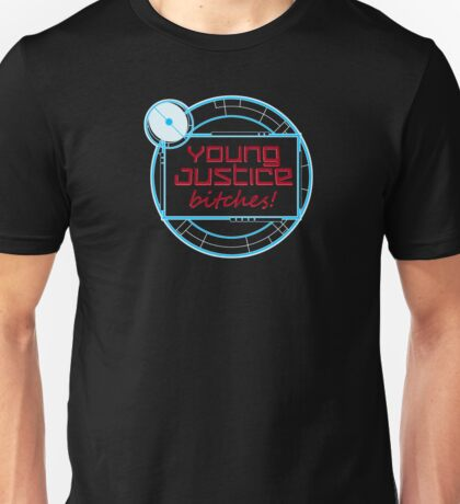 Young Justice Abridged Logo (Adult-Version) Unisex T-Shirt