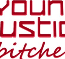 Young Justice Abridged Logo (Adult-Version) Sticker