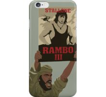RAMBO III FOLLOWER PROTEST iPhone Case/Skin