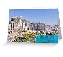 The Strip, Las Vegas, Nevada, USA Greeting Card