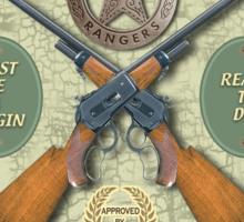 Recruiting Texas Rangers Sticker