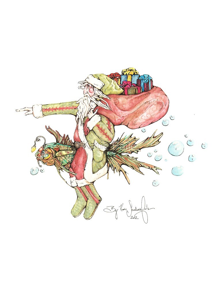 Santa And The Christmas Fish by Katie Faile